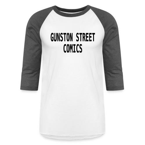 GUNSTON STREET COMICS - Unisex Baseball T-Shirt