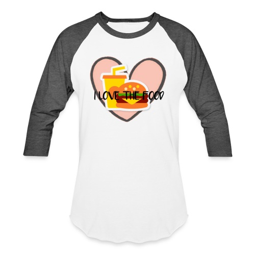 Food - Baseball T-Shirt