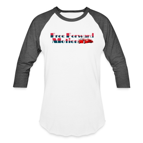 Free Forward Motion - Unisex Baseball T-Shirt