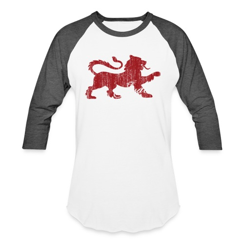 The Lion of Judah - Unisex Baseball T-Shirt