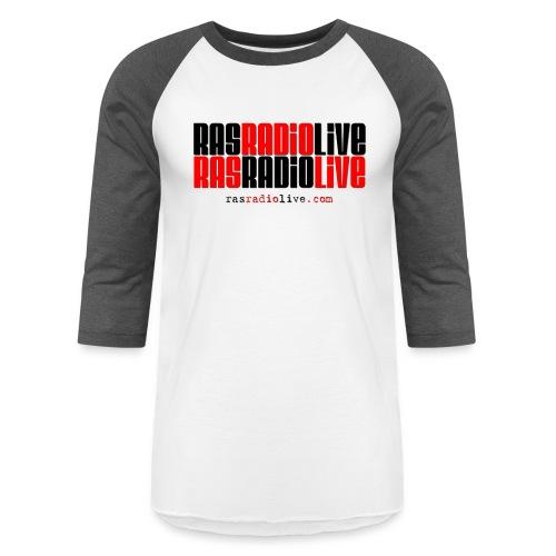 rasradiolive png - Baseball T-Shirt