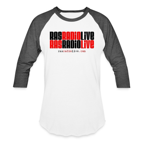 rasradiolive png - Unisex Baseball T-Shirt