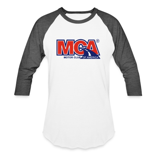 MCA_Logo_WBG_Transparent - Baseball T-Shirt
