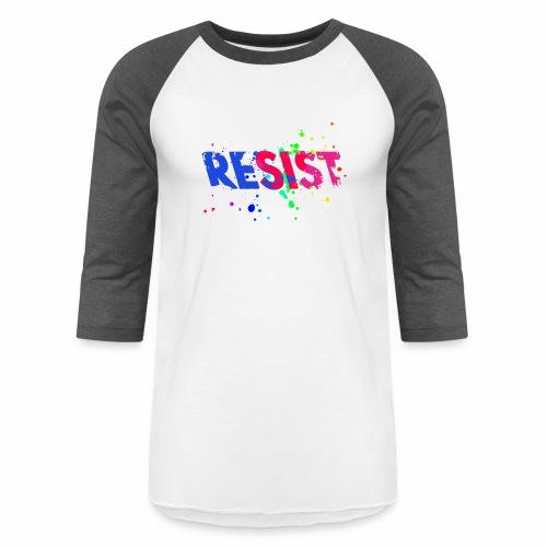Resist - Baseball T-Shirt