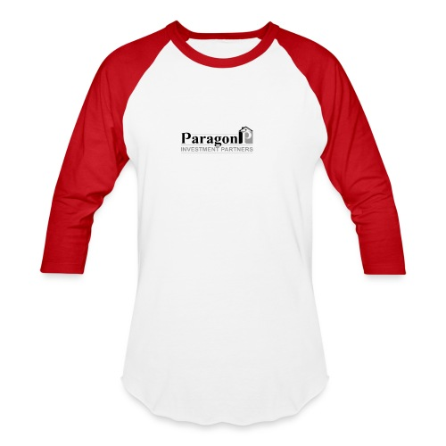 Shop Paragon Investment Partners Apparel - Unisex Baseball T-Shirt