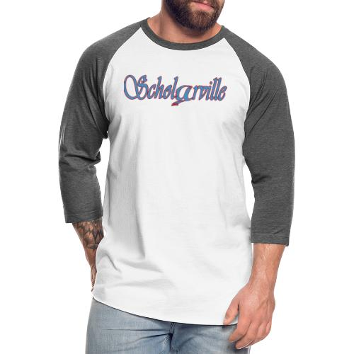 Welcome To Scholarville - Unisex Baseball T-Shirt