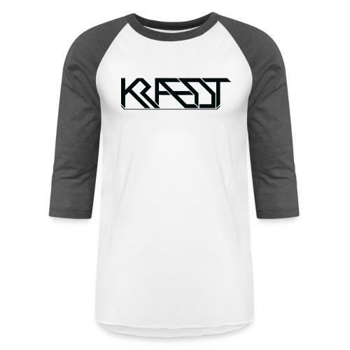 Kraedt Logo (Black) - Unisex Baseball T-Shirt