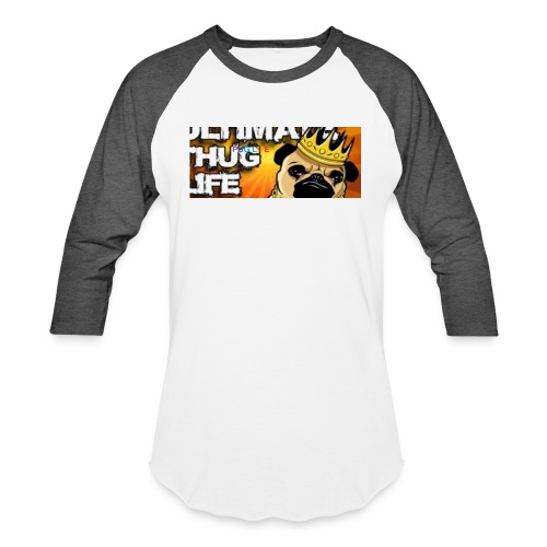 pug life - Baseball T-Shirt