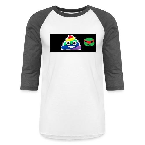 ninja poop - Baseball T-Shirt