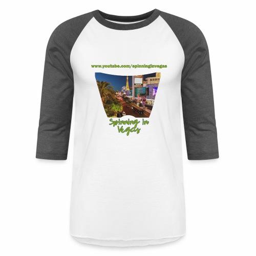 Spinning in Vegas Clothing Line - Baseball T-Shirt