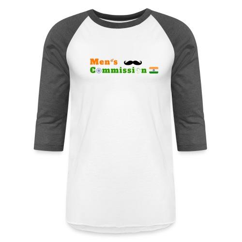 Mens Commission India - Unisex Baseball T-Shirt