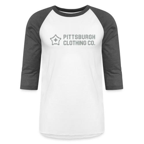 wordmark side - Unisex Baseball T-Shirt
