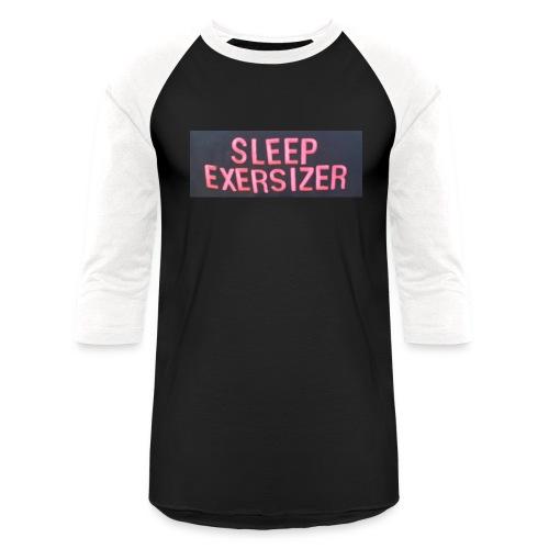 Sleep Exersizer Words - Baseball T-Shirt
