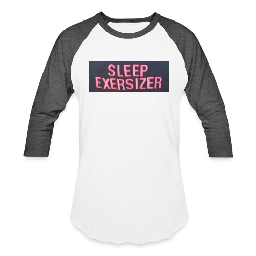 Sleep Exersizer Words - Unisex Baseball T-Shirt