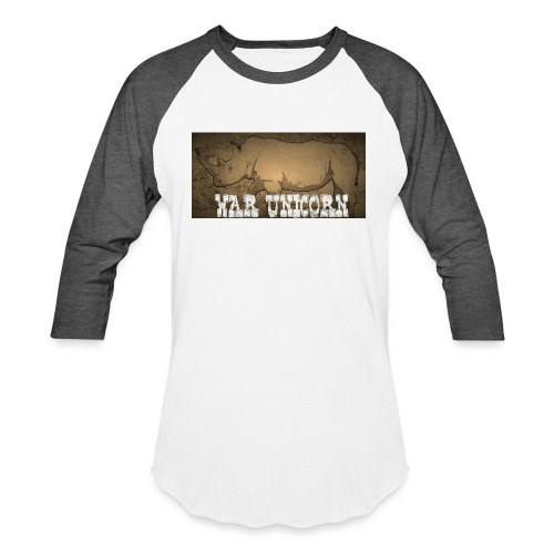 War Unicorn - Unisex Baseball T-Shirt