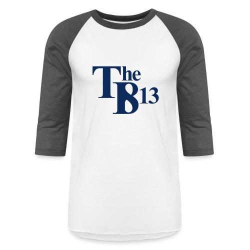 TBisthe813 BLUE - Unisex Baseball T-Shirt
