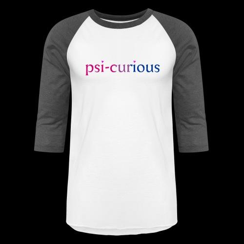 psicurious - Baseball T-Shirt