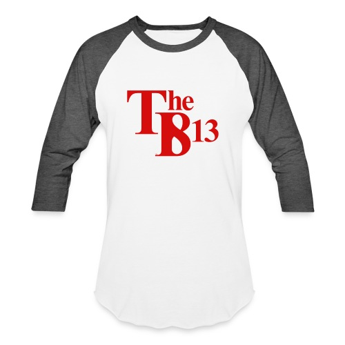 TBisthe813 RED - Unisex Baseball T-Shirt