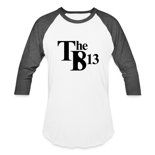 TBisthe813 BLACK - Unisex Baseball T-Shirt