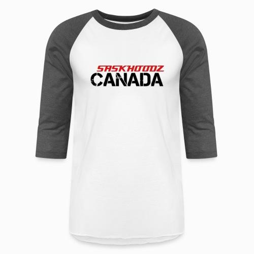 saskhoodz canada - Unisex Baseball T-Shirt