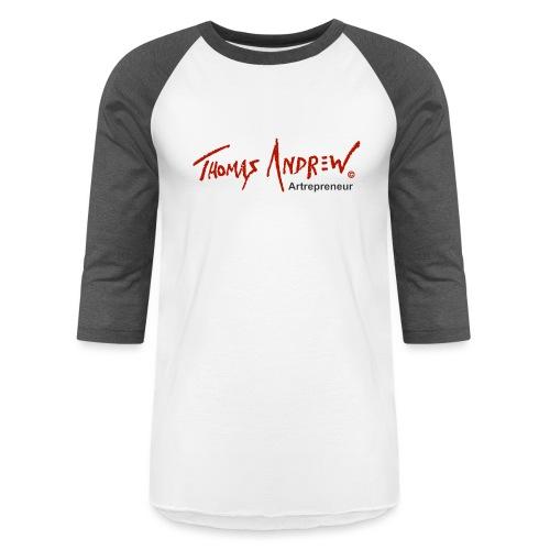 Thomas Andrew Artrepreneur - Unisex Baseball T-Shirt