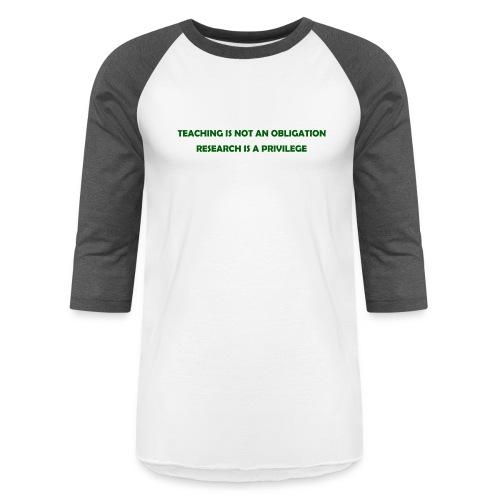 Teaching - Baseball T-Shirt