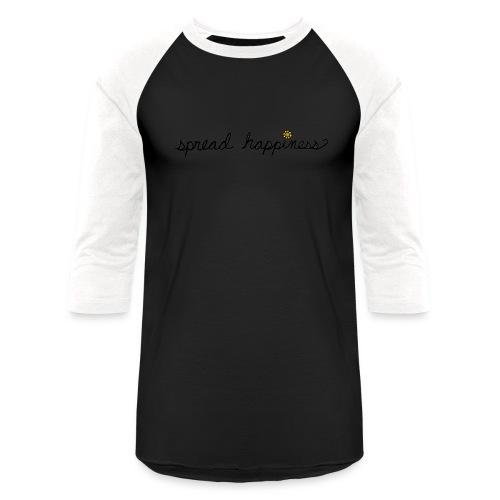 Spread Happiness Women's T-shirt - Baseball T-Shirt
