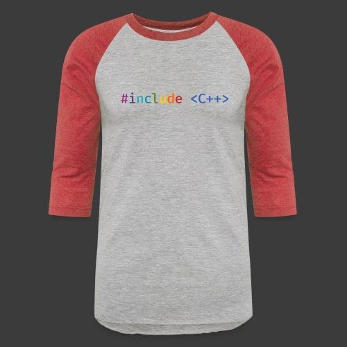 Rainbow Include - Baseball T-Shirt