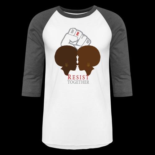 Resist Together Shirt 2 Women png - Baseball T-Shirt