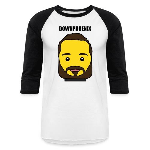 Downphoenix Face Mode - Baseball T-Shirt
