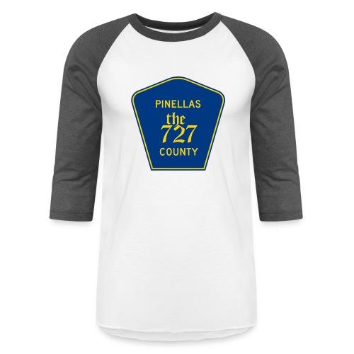 Pinellas the727 County tee - Unisex Baseball T-Shirt