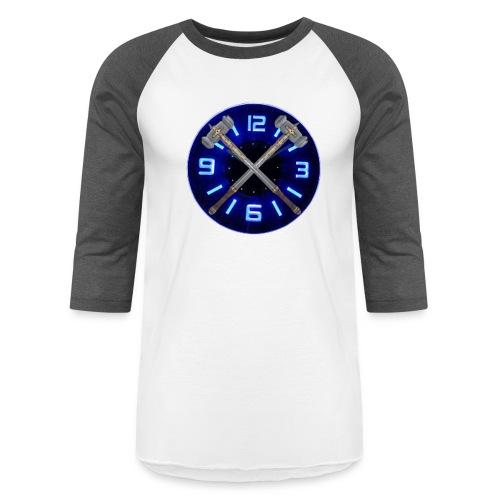 Hammer Time T-Shirt- Steel Blue - Baseball T-Shirt