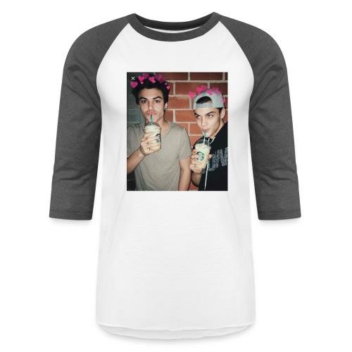 Dolan twins merch 💜🖤 - Baseball T-Shirt