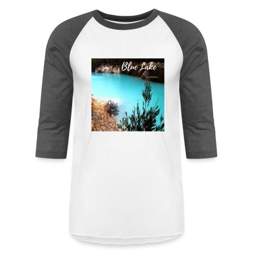 Tasmania Blue Lake - Baseball T-Shirt