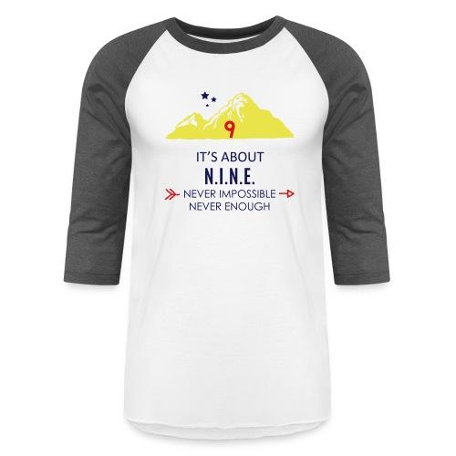 Design Mountain NEW - Baseball T-Shirt