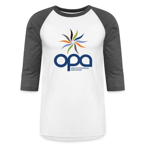 Long-sleeve t-shirt with full color OPA logo - Baseball T-Shirt