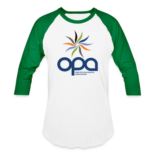 Long-sleeve t-shirt with full color OPA logo - Unisex Baseball T-Shirt