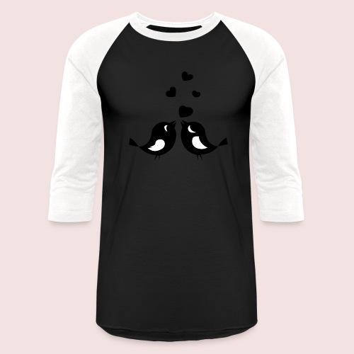 Love Birds - Baseball T-Shirt