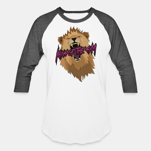 KOTG Lion - Unisex Baseball T-Shirt