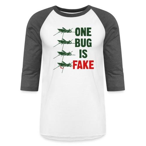 Fly Fishing Hopper - Unisex Baseball T-Shirt