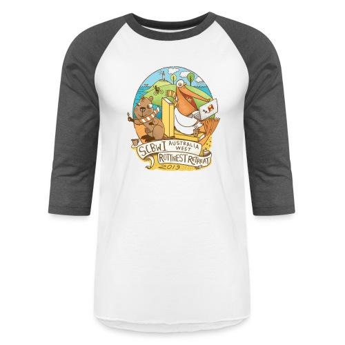 SCBWI Australia West 2019 Rottnest Retreat - Baseball T-Shirt