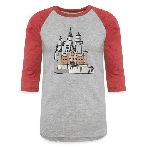 Neuschwanstein Castle, Bavaria - Baseball T-Shirt
