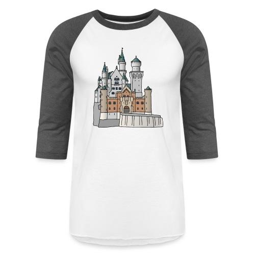 Neuschwanstein Castle, Bavaria - Unisex Baseball T-Shirt