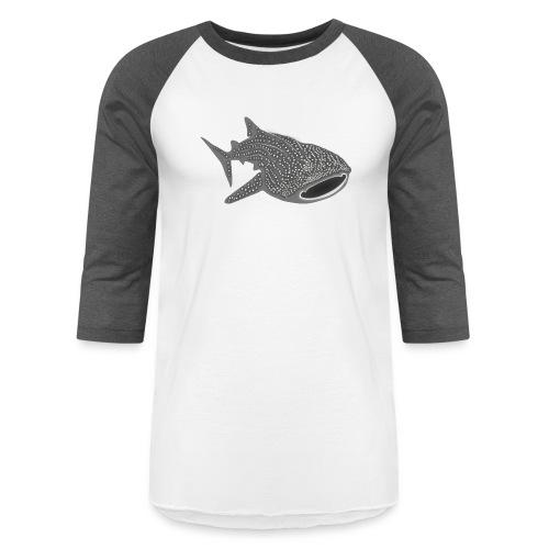 save the whale shark sharks fish dive diver diving - Unisex Baseball T-Shirt