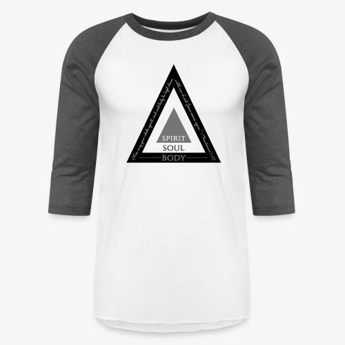 Spirit Soul Body - Baseball T-Shirt