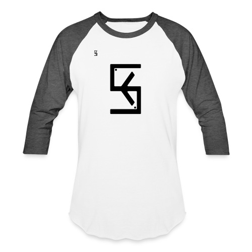 Soft Kore Logo Black - Baseball T-Shirt
