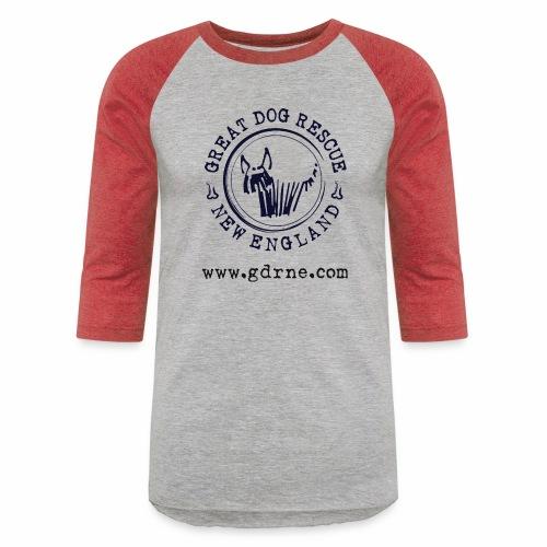 GDRNE Logo - Unisex Baseball T-Shirt