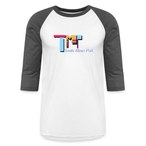 TechManPat Logo Large - Baseball T-Shirt