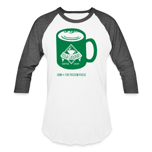 High Grounds Coffee Shop - Baseball T-Shirt