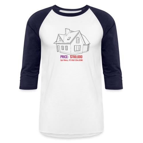 Fannie & Freddie Joke - Baseball T-Shirt